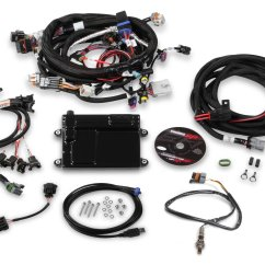 4l80 Wiring Diagram Hand Joints Ls Efi Systems Holley Performance Products Hp Ecu Harness Kits