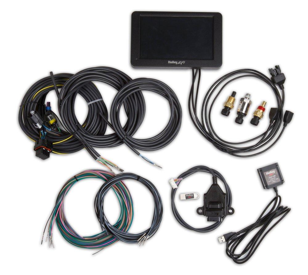 medium resolution of 553 109 holley stand alone digital dash kit image