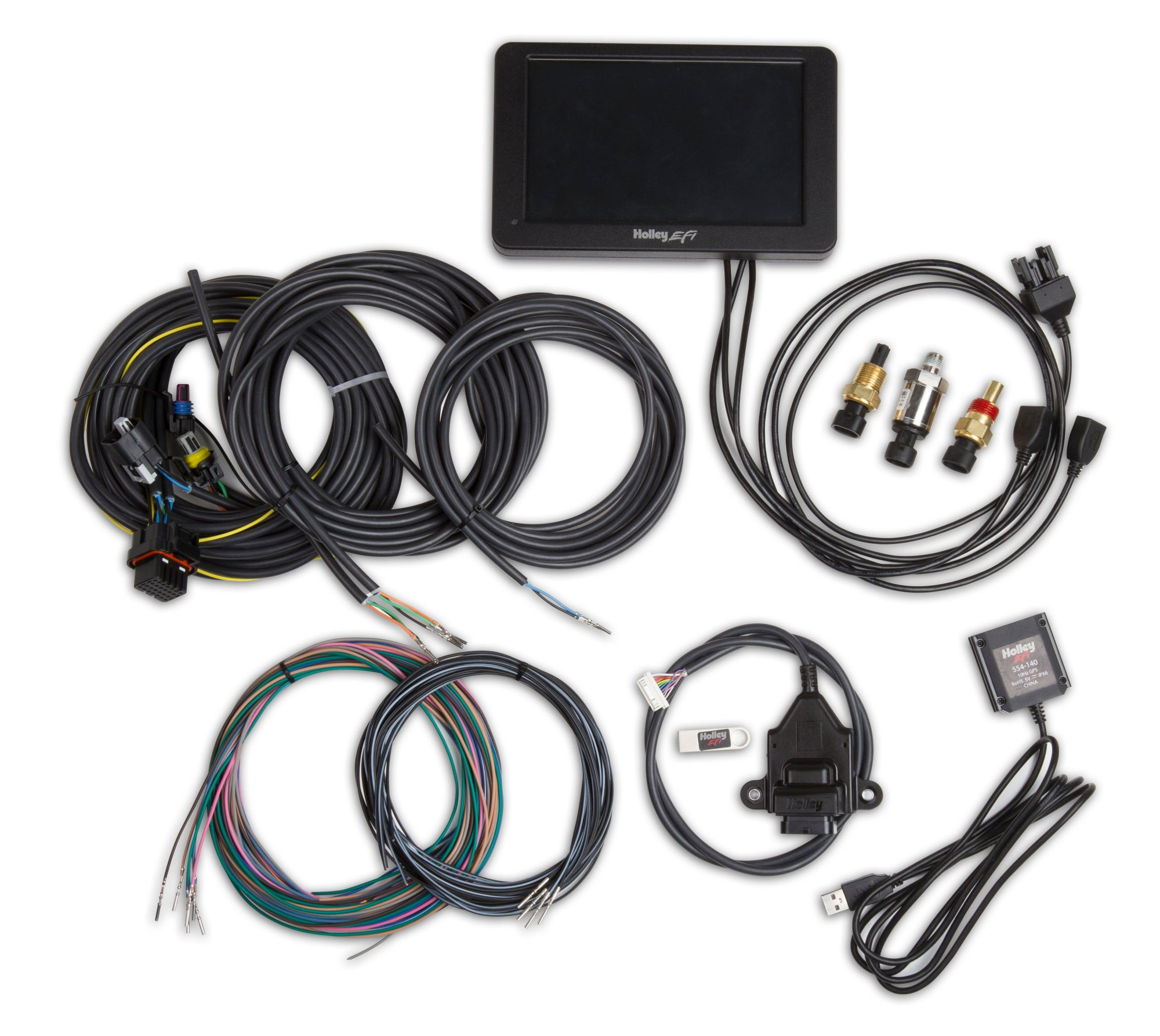 hight resolution of 553 109 holley stand alone digital dash kit image
