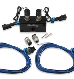557 201 holley efi high flow dual solenoid boost control kit image [ 3828 x 2910 Pixel ]
