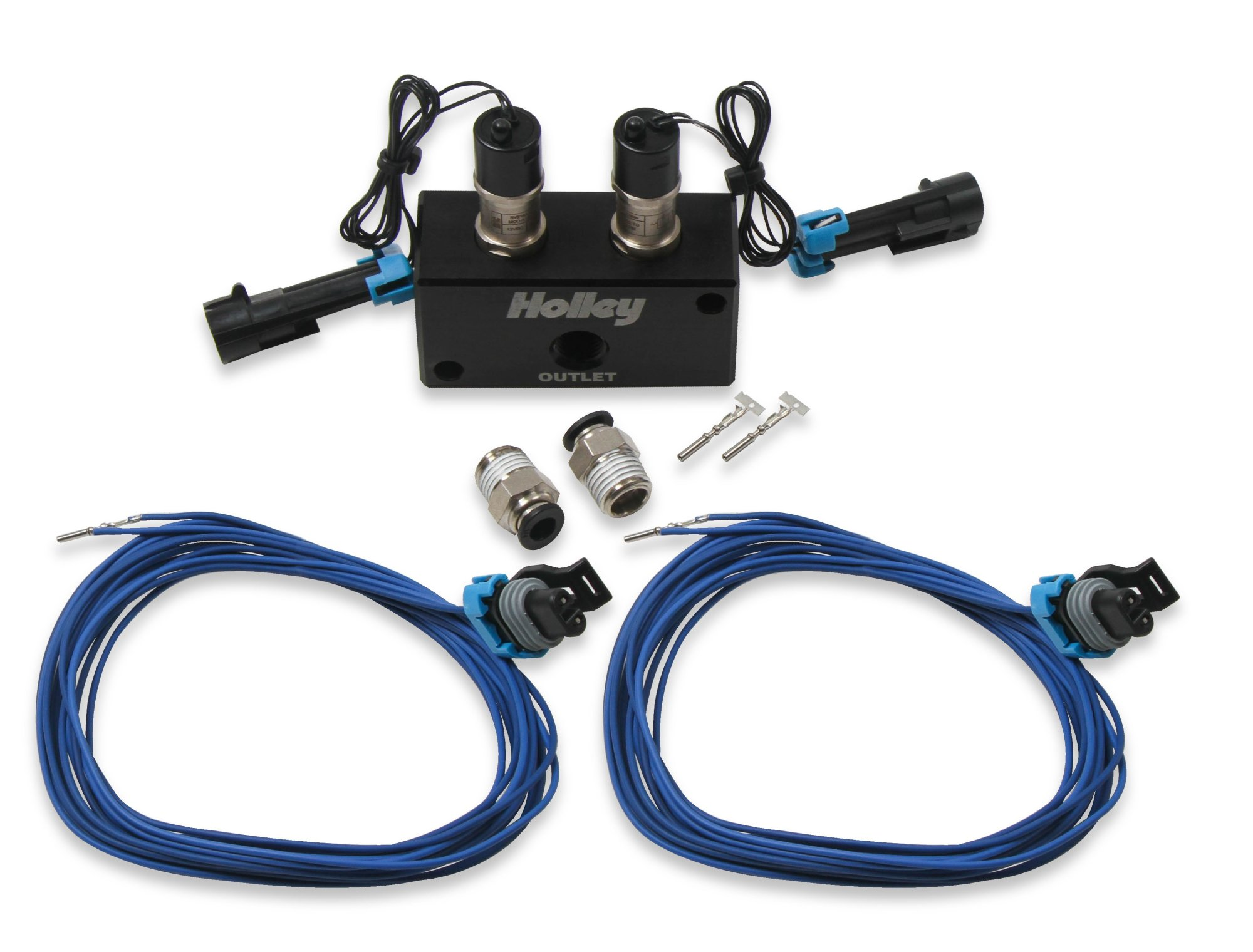 hight resolution of 557 201 holley efi high flow dual solenoid boost control kit image