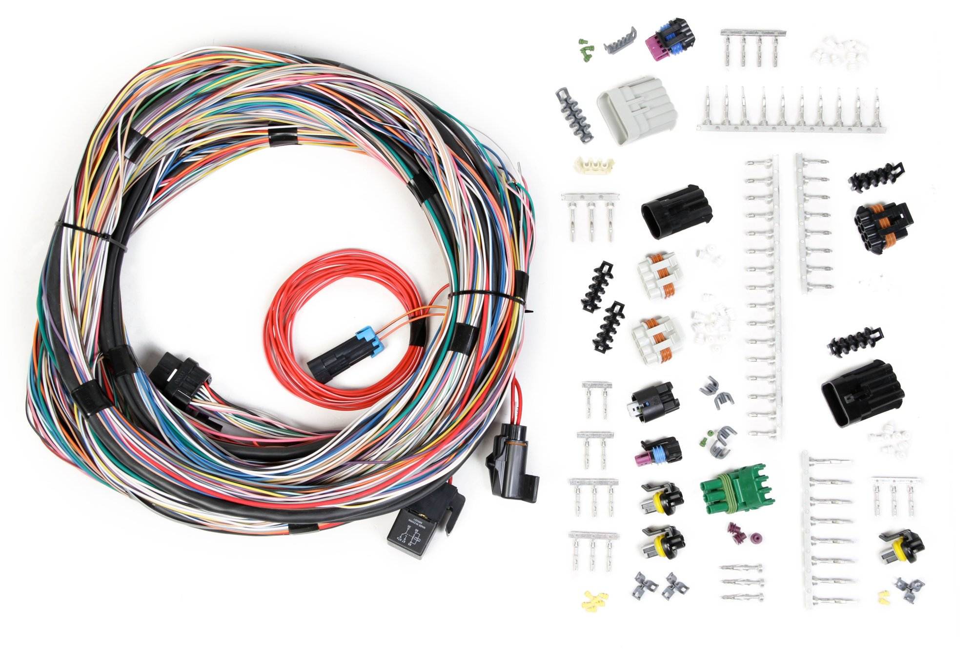 hight resolution of holley efi 558 105 unterminated universal main harness holley efi wiring harness diagram holley wiring harness