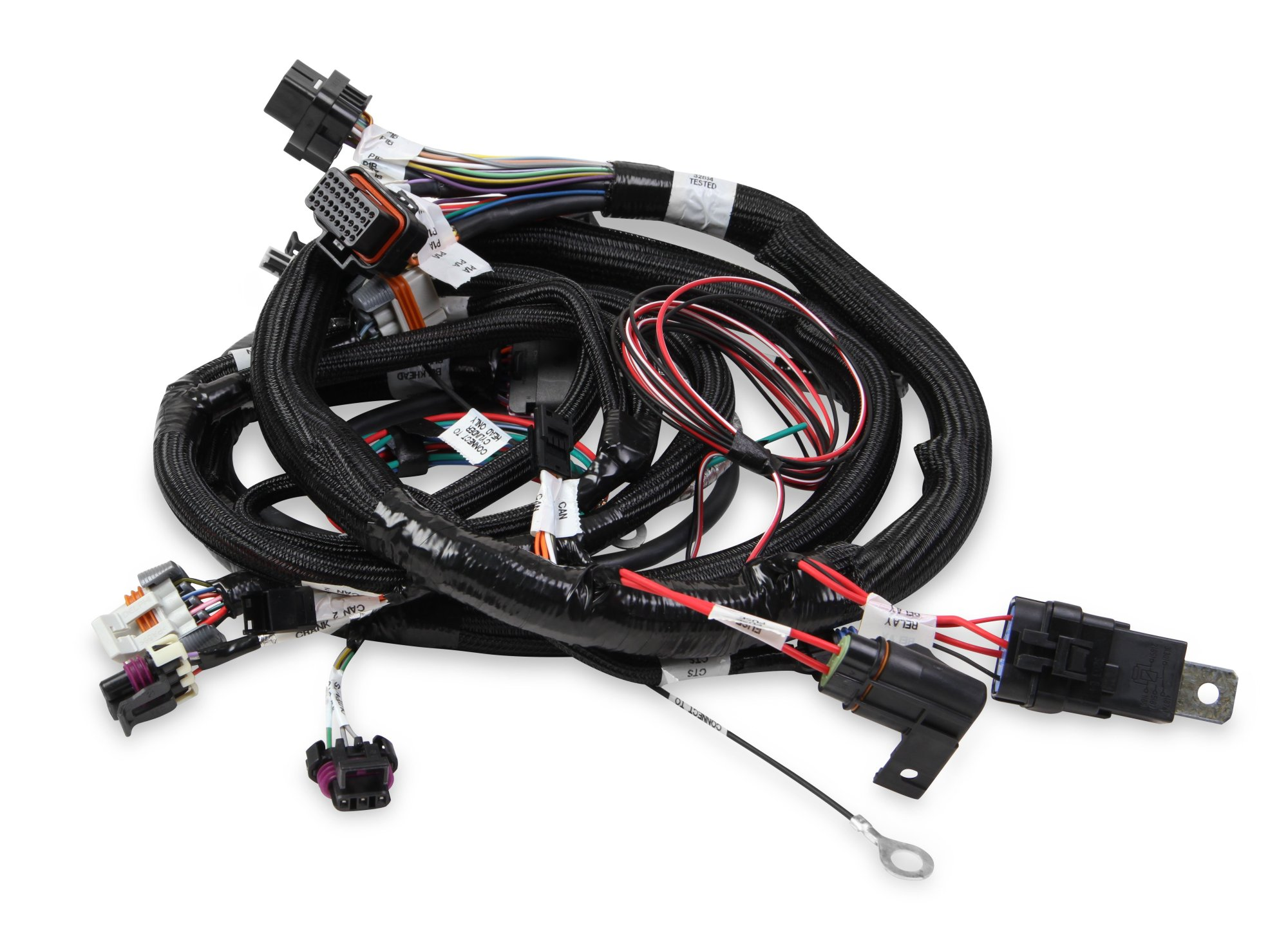 hight resolution of holley efi 558 111 terminator efi main wiring harness tbi lsx 24x holley ls1 wiring harness holley wiring harness