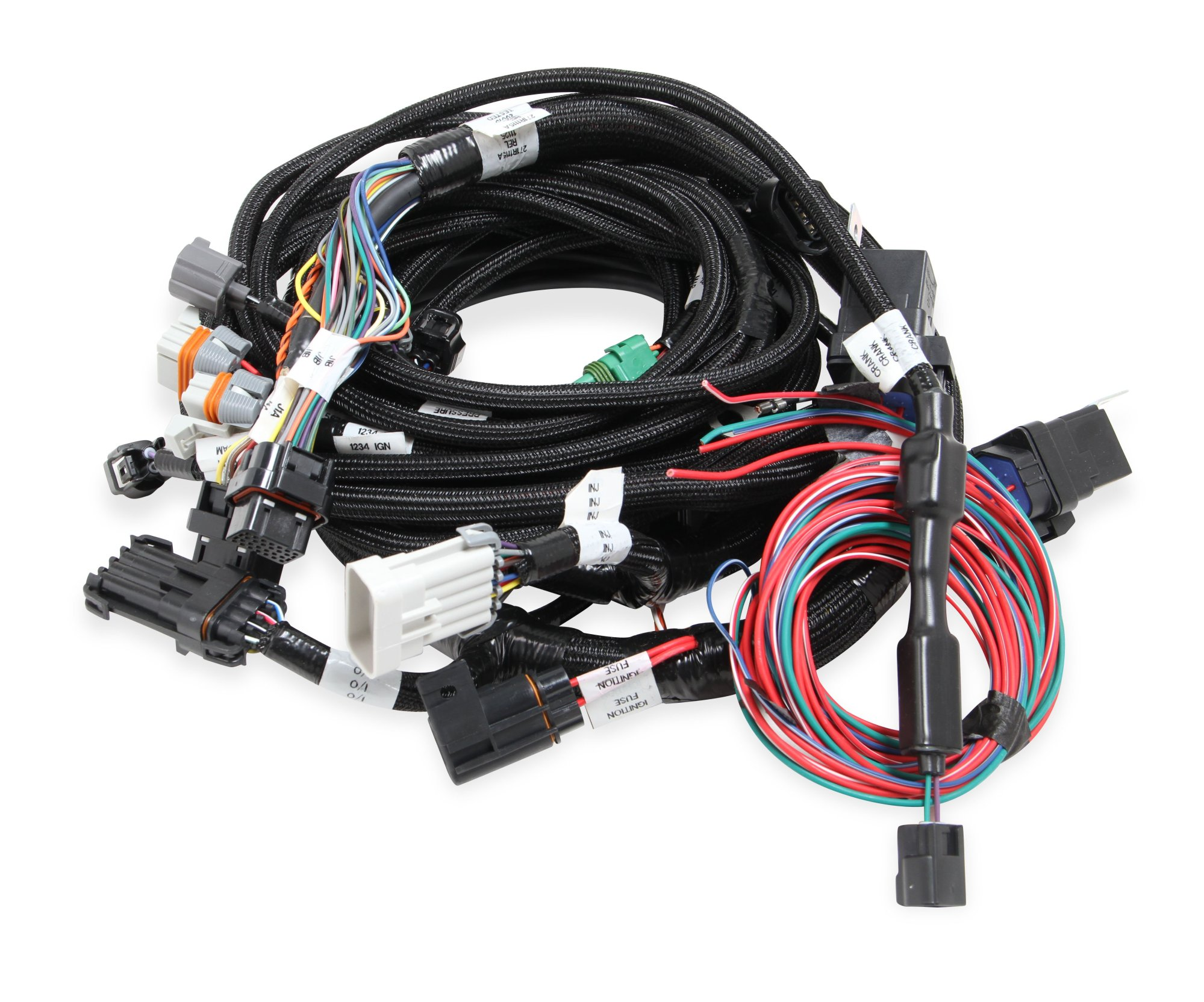 hight resolution of 558 113 ford modular 2v 4v main harness for use with holley smart