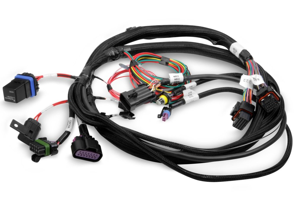 medium resolution of holley efi 558 414 terminator main harness holley projection wiring harness 558 414 terminator main harness