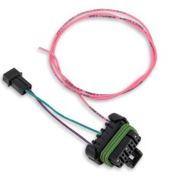 sniper efi to holley efi dual sync distributor adapter harness [ 2888 x 2642 Pixel ]