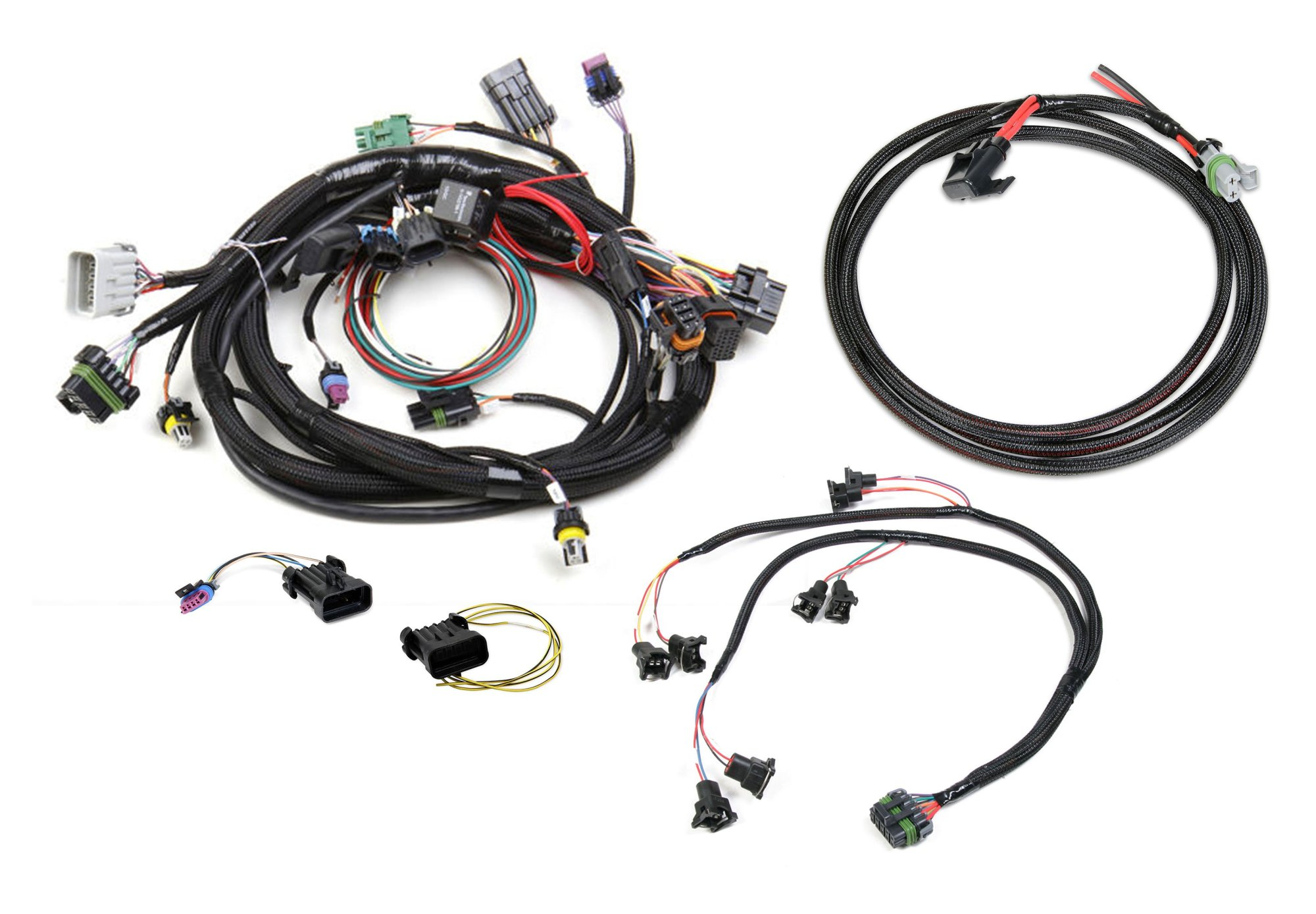 hight resolution of 558 503 gm tpi and stealth ram efi harness kit image