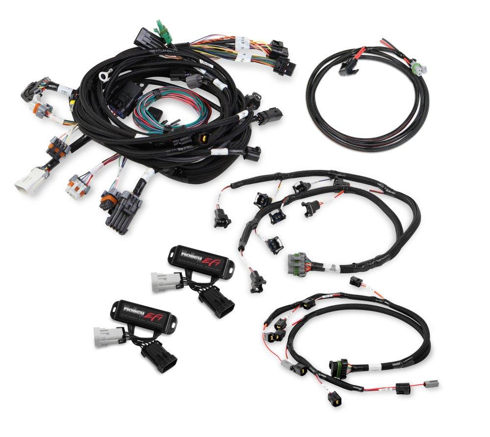 medium resolution of 558 505 ford modular 2 valve efi harness kit image