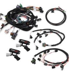 558 506 ford modular 4 valve efi harness kit image [ 2880 x 2569 Pixel ]