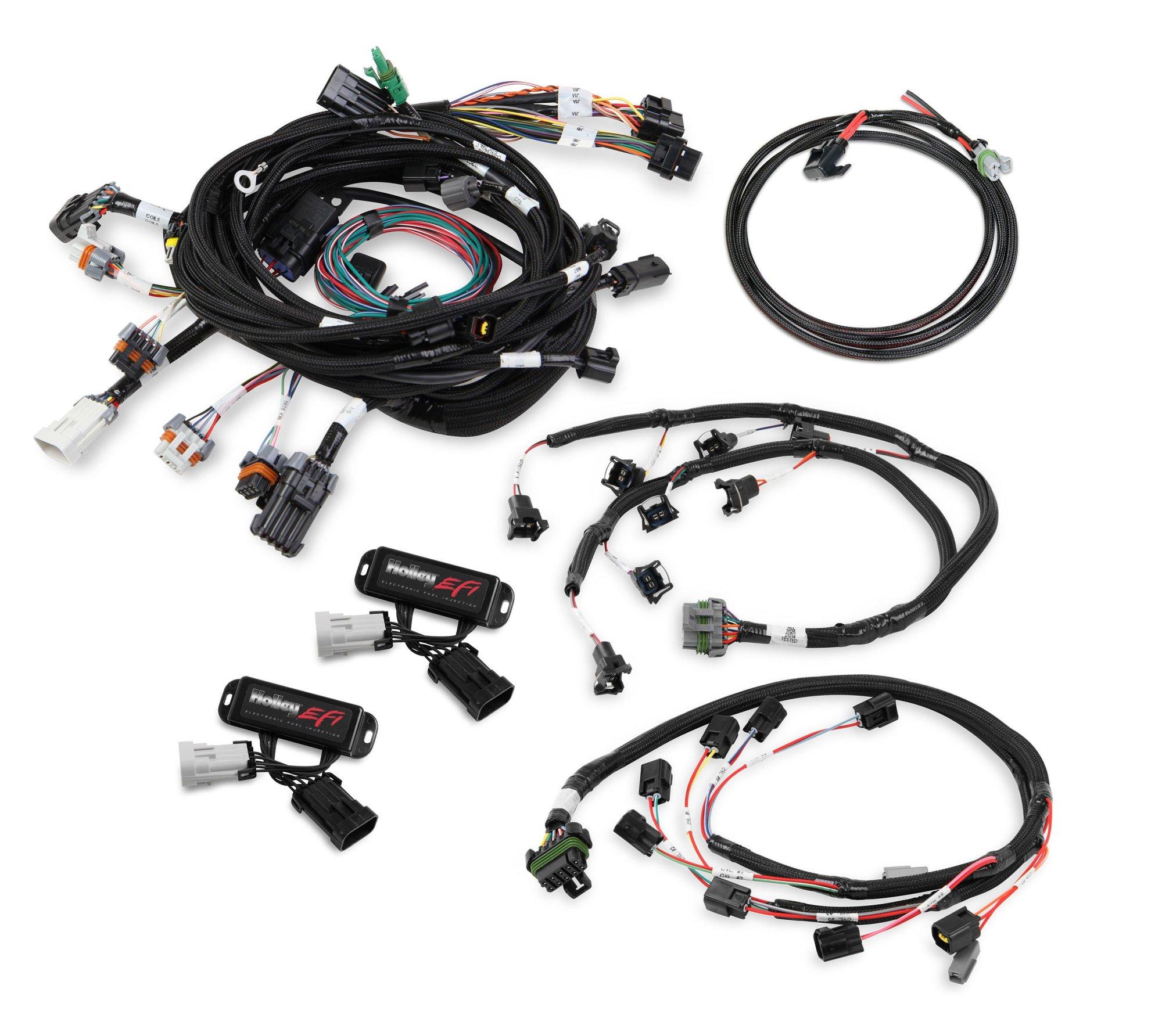 hight resolution of 558 506 ford modular 4 valve efi harness kit image