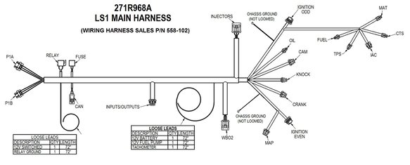 Holley Ls Stand Alone Wiring Harness : 36 Wiring Diagram