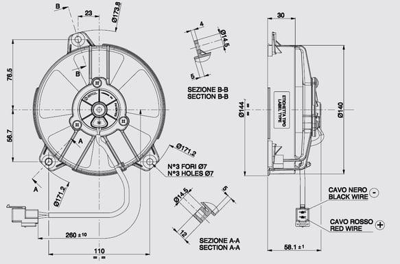 Earls FP820ERL Earls UltraPro Oil Cooler w/ Dual Fan Pack