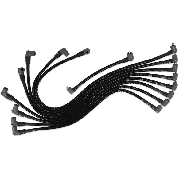 MSD 31591 Sleeved Spark Plug Wires for SBC under exhaust