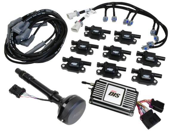 medium resolution of 601513 dis kit chevy small big block black image