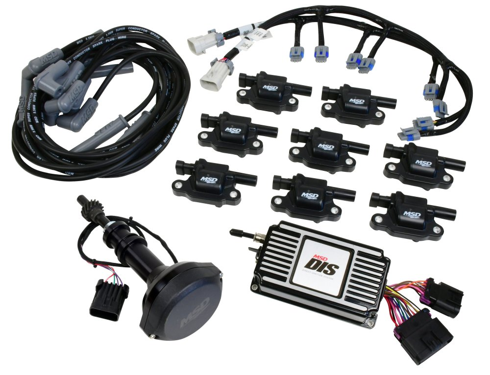 medium resolution of 601533 dis kit small block ford 351w black image