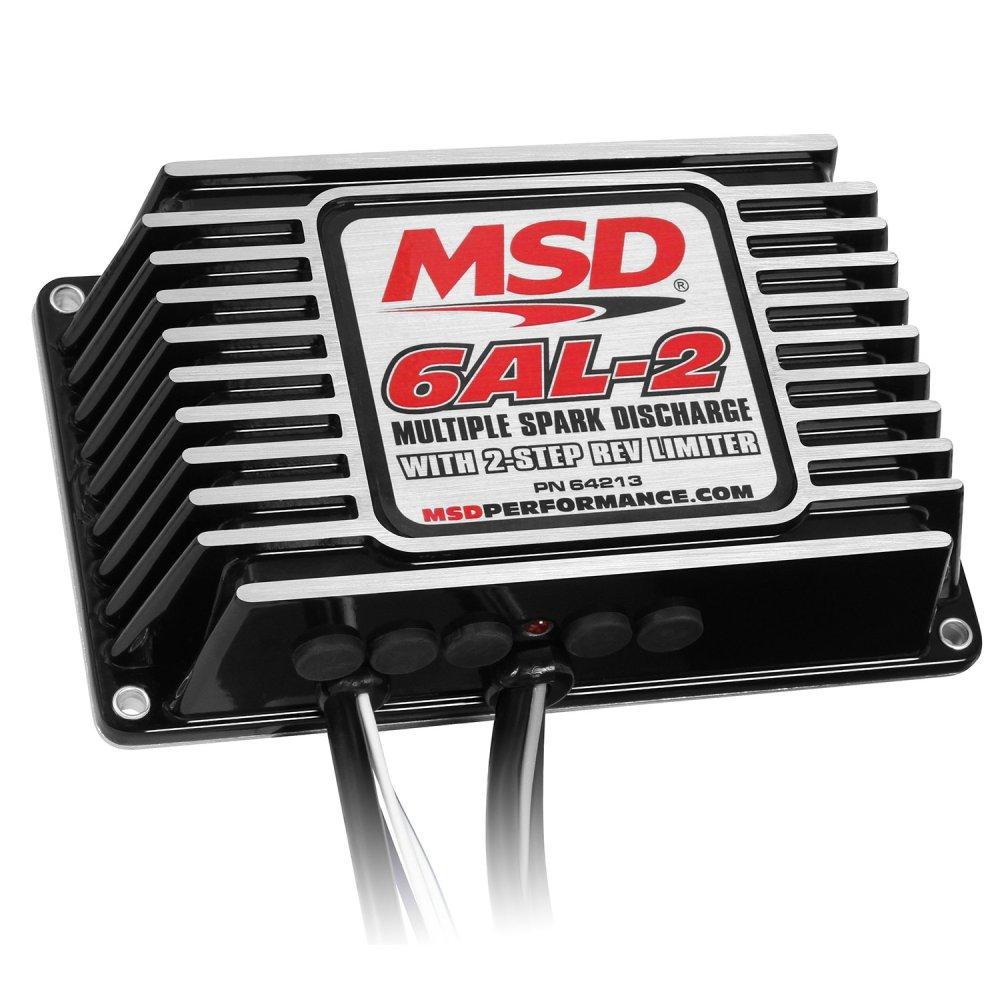 medium resolution of 64213 msd 6al 2 ignition control black image