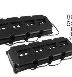 68501bg mr gasket fabricated valve covers black finish image [ 1260 x 881 Pixel ]