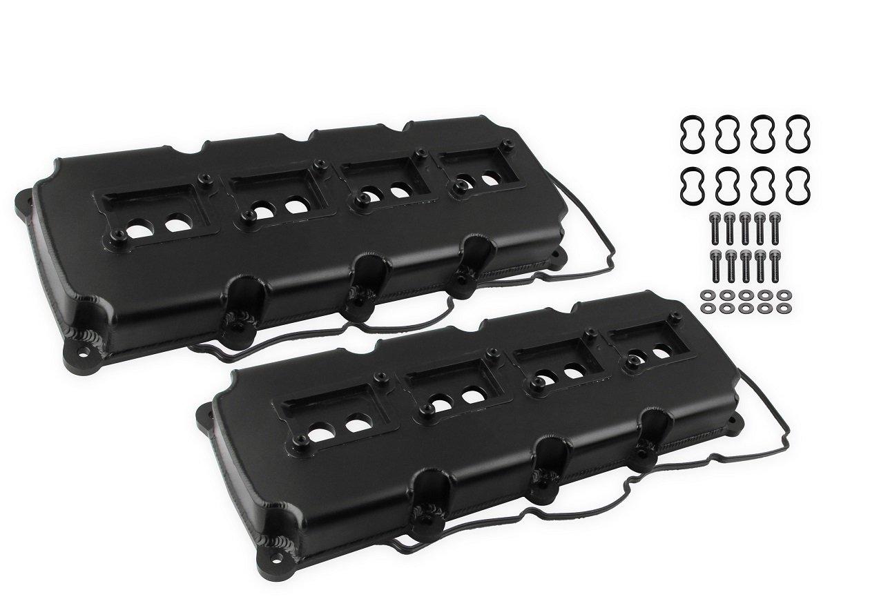 hight resolution of 68501bg mr gasket fabricated valve covers black finish image