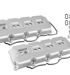 68501g mr gasket fabricated valve covers silver finish image [ 1260 x 881 Pixel ]