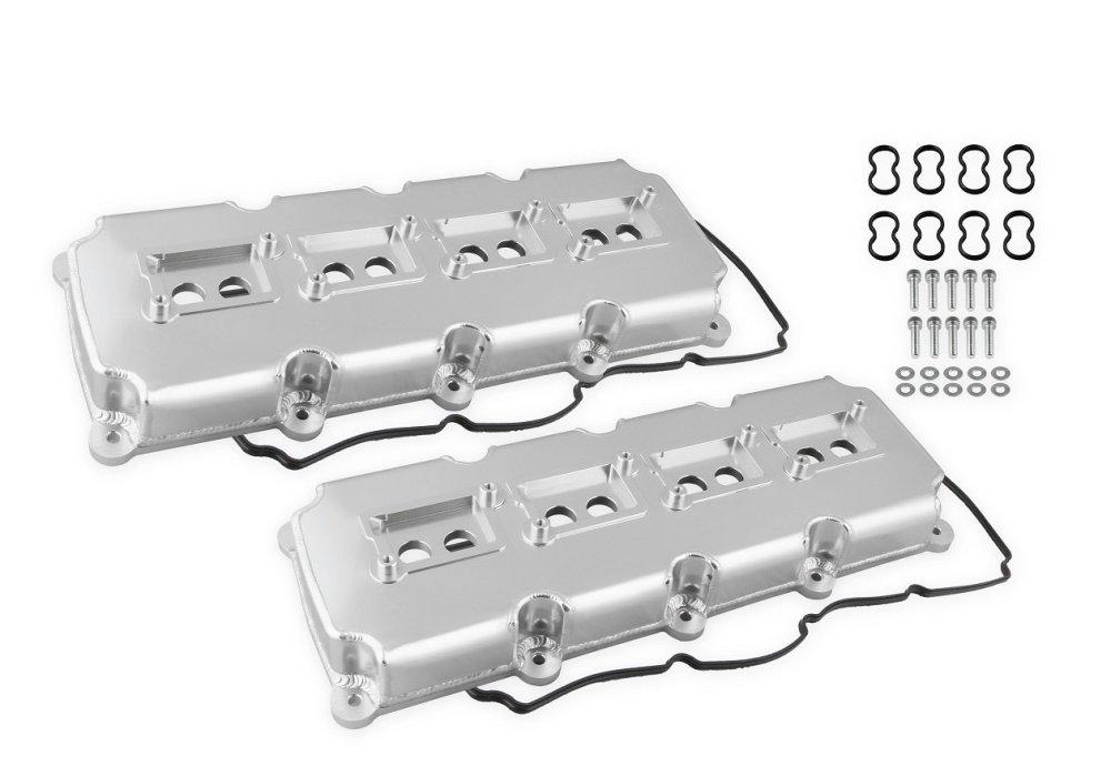 medium resolution of 68501g mr gasket fabricated valve covers silver finish image