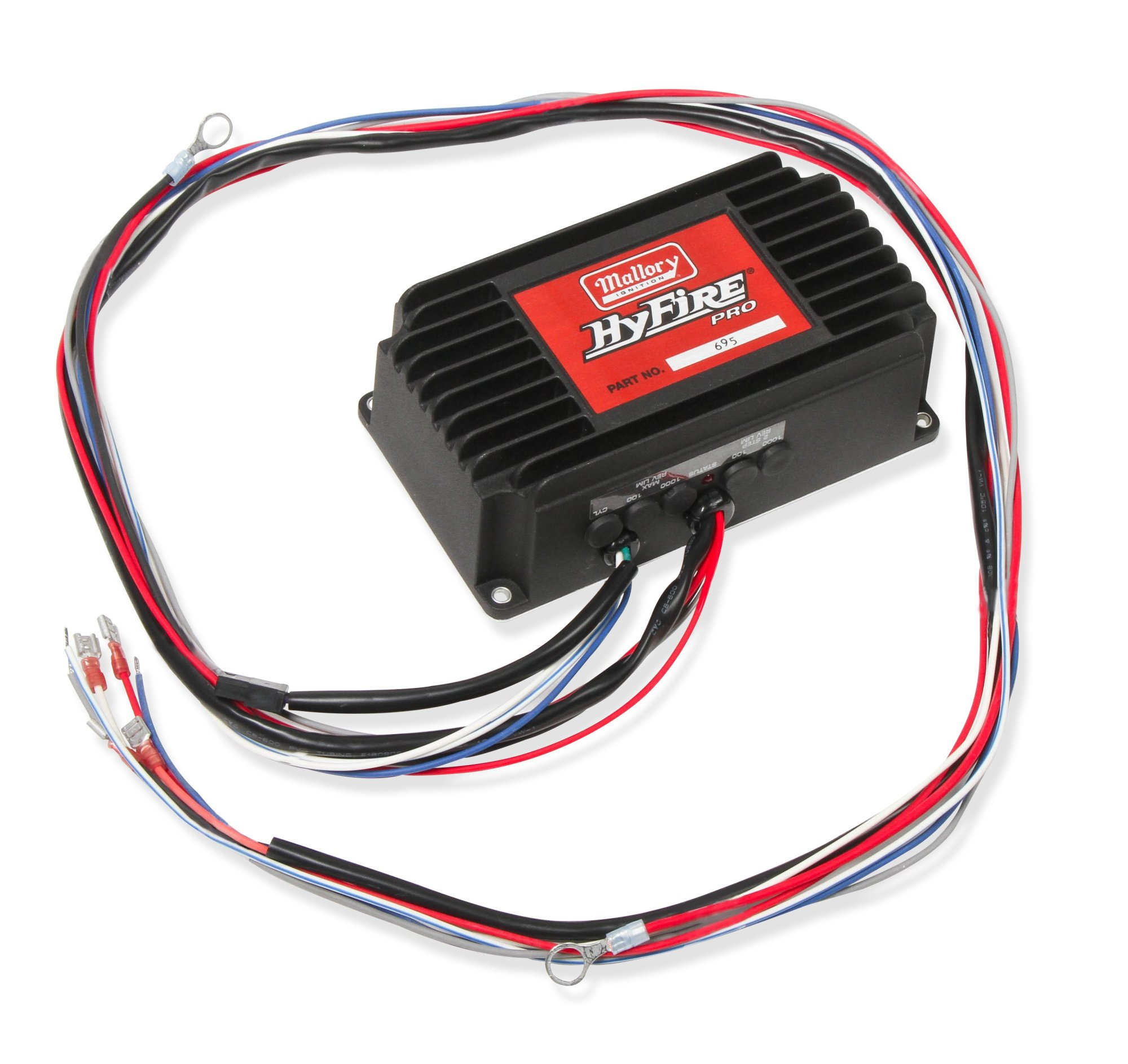 hight resolution of 695 mallory hyfire pro ignition box image