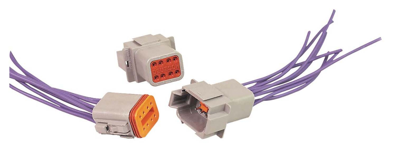 hight resolution of msd 8185 8 pin deutsch connector 16 gauge rount timer 8 pin connector wiring 8 pin connector wiring
