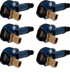 825765 ford blue ecoboost 6 pack coils 3 5l v6 3 pin [ 1500 x 1500 Pixel ]