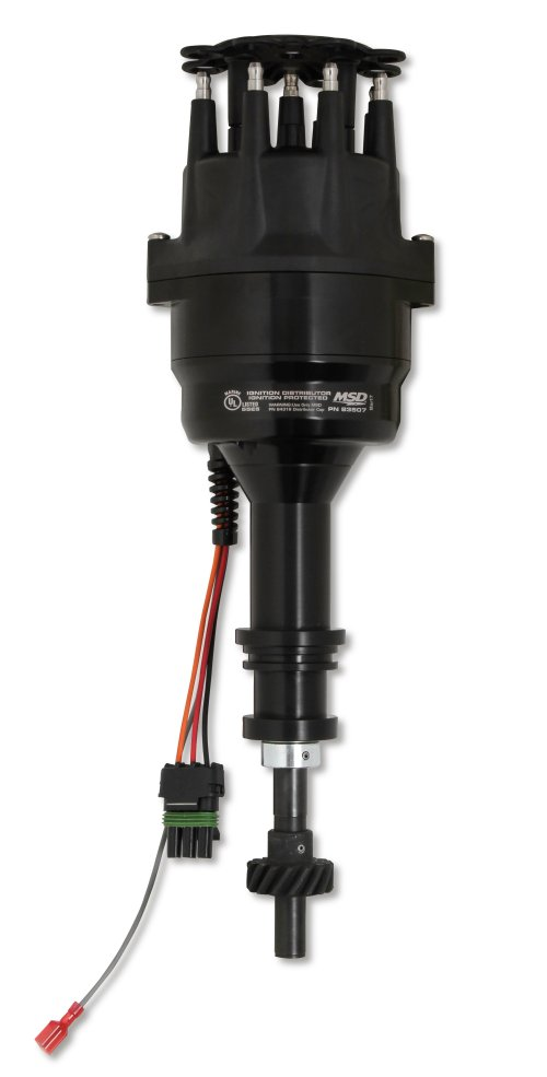 small resolution of 83507 ford 351 460 ready to run marine distributor black image