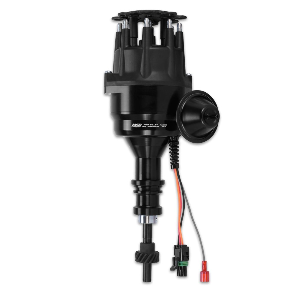 medium resolution of 83523 msd black ford 289 302 ready to run distributor image