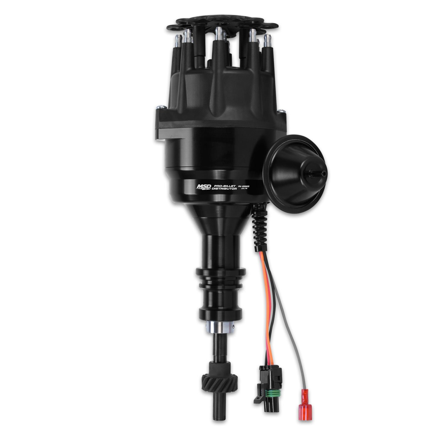 hight resolution of 83523 msd black ford 289 302 ready to run distributor image