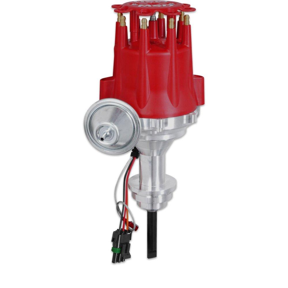 medium resolution of msd 8388 chrysler 318 360 ready to run distributor chrysler 318 distributor wiring