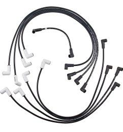 9020c spark plug wire set extreme 9000 ceramic boot chevy gmc 85 [ 2997 x 2997 Pixel ]
