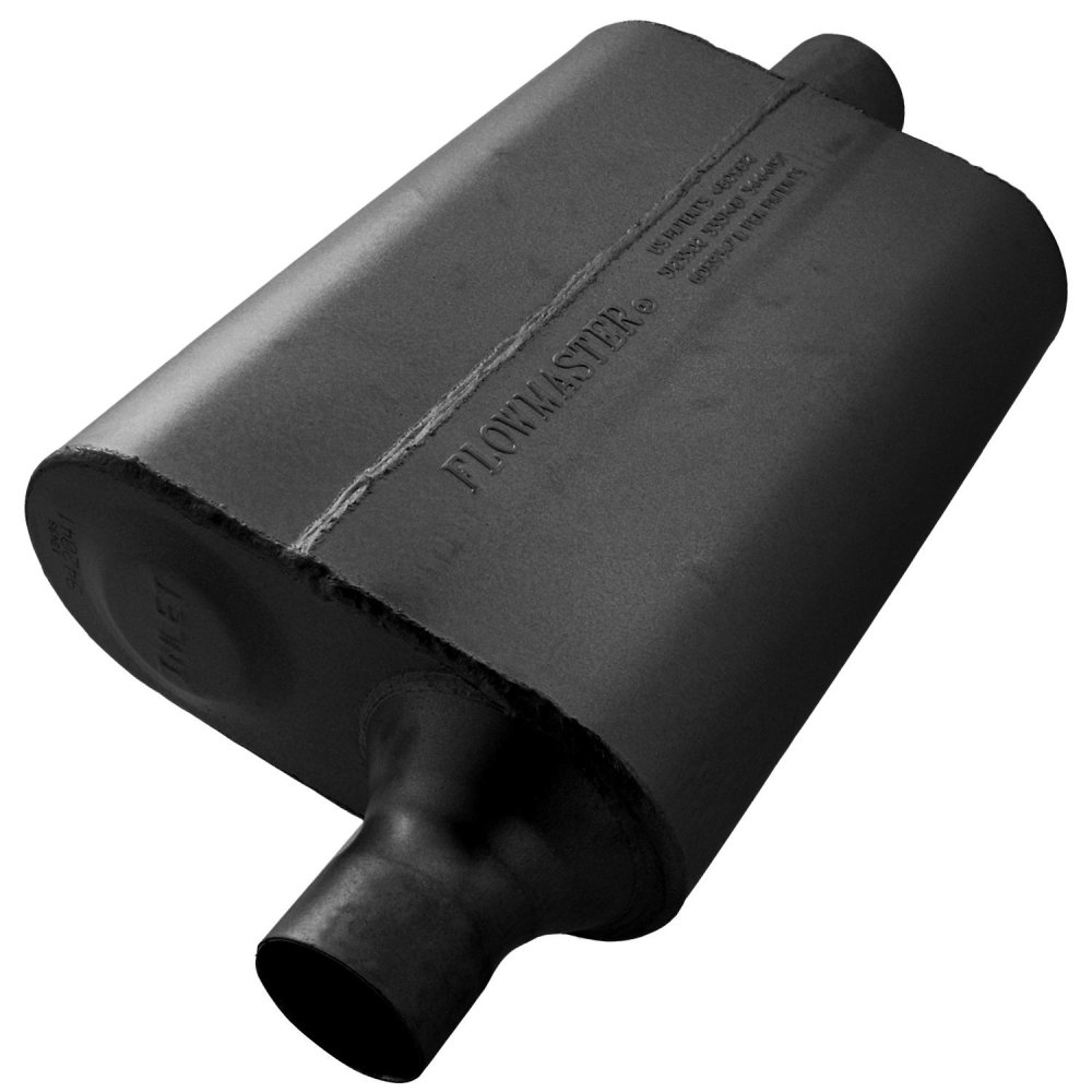 medium resolution of 942041 flowmaster 40 series delta flow chambered muffler image