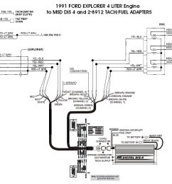 ford 91 explorer 4l dis 4 with 8912s holley blog perma cool wiring diagram msd dis 4 wiring diagram [ 1024 x 879 Pixel ]