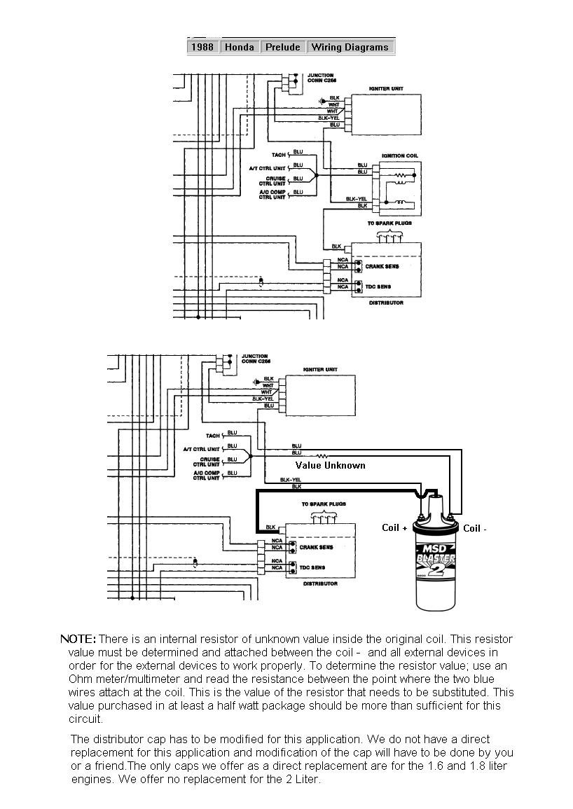hight resolution of 88 prelude blaster ii coil holley blogblog diagrams and drawings 6 series honda 88 prelude blaster ii coil jpg this diagram illustrates how to install a