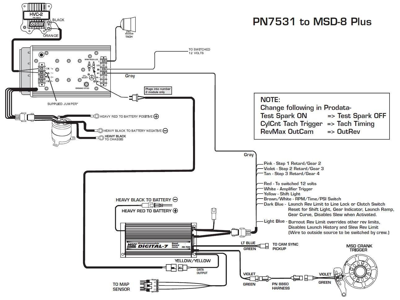 hight resolution of msd digital 7 7531 wiring diagram wiring diagrams scematic rh 4 jessicadonath de msd 7530t msd