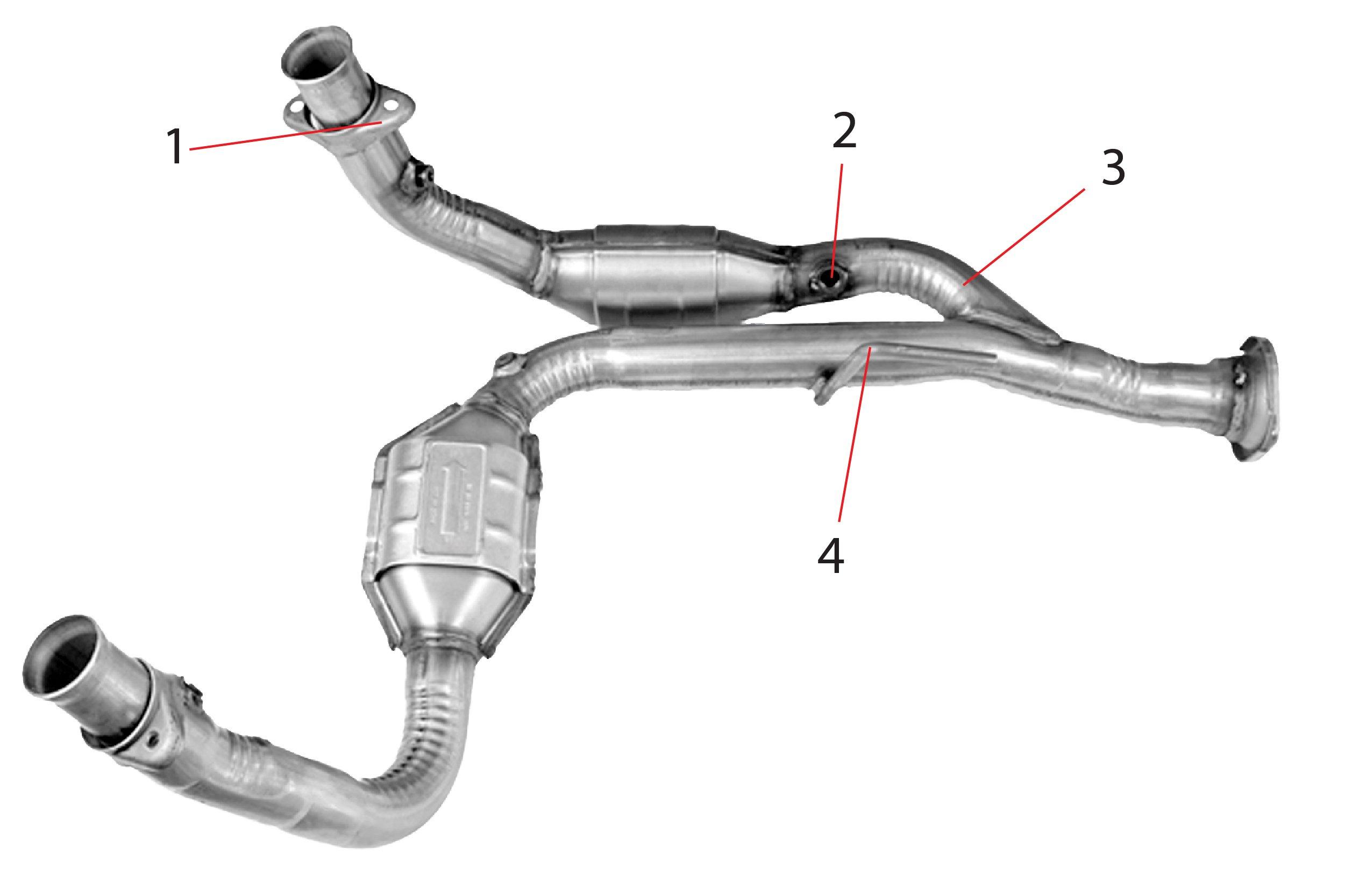 2002 Ford Ranger Catalytic Converter Diagram