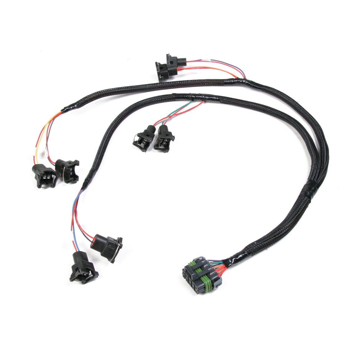 Holley Efi 558 200 V8 Over Manifold Bosch Style Injector Harness