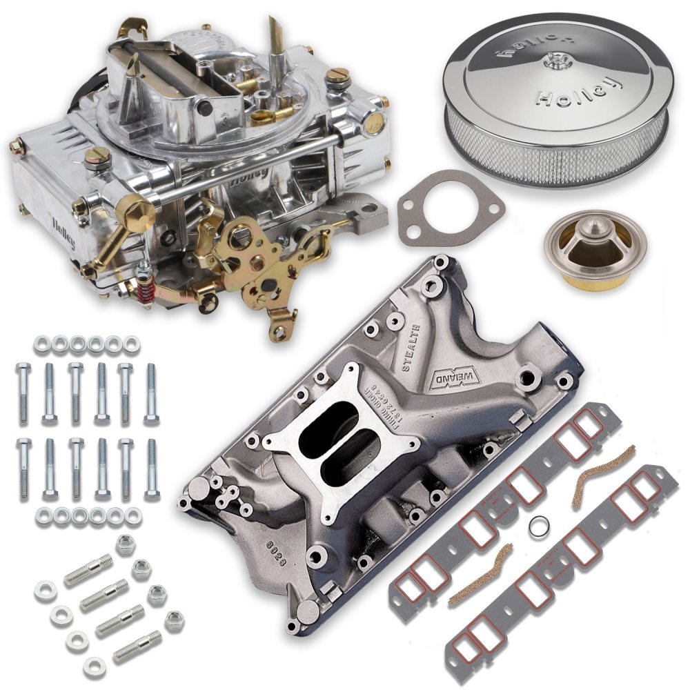 medium resolution of vk060064 750 cfm 0 80508s carburetor and ford 351w intake manifold combo image