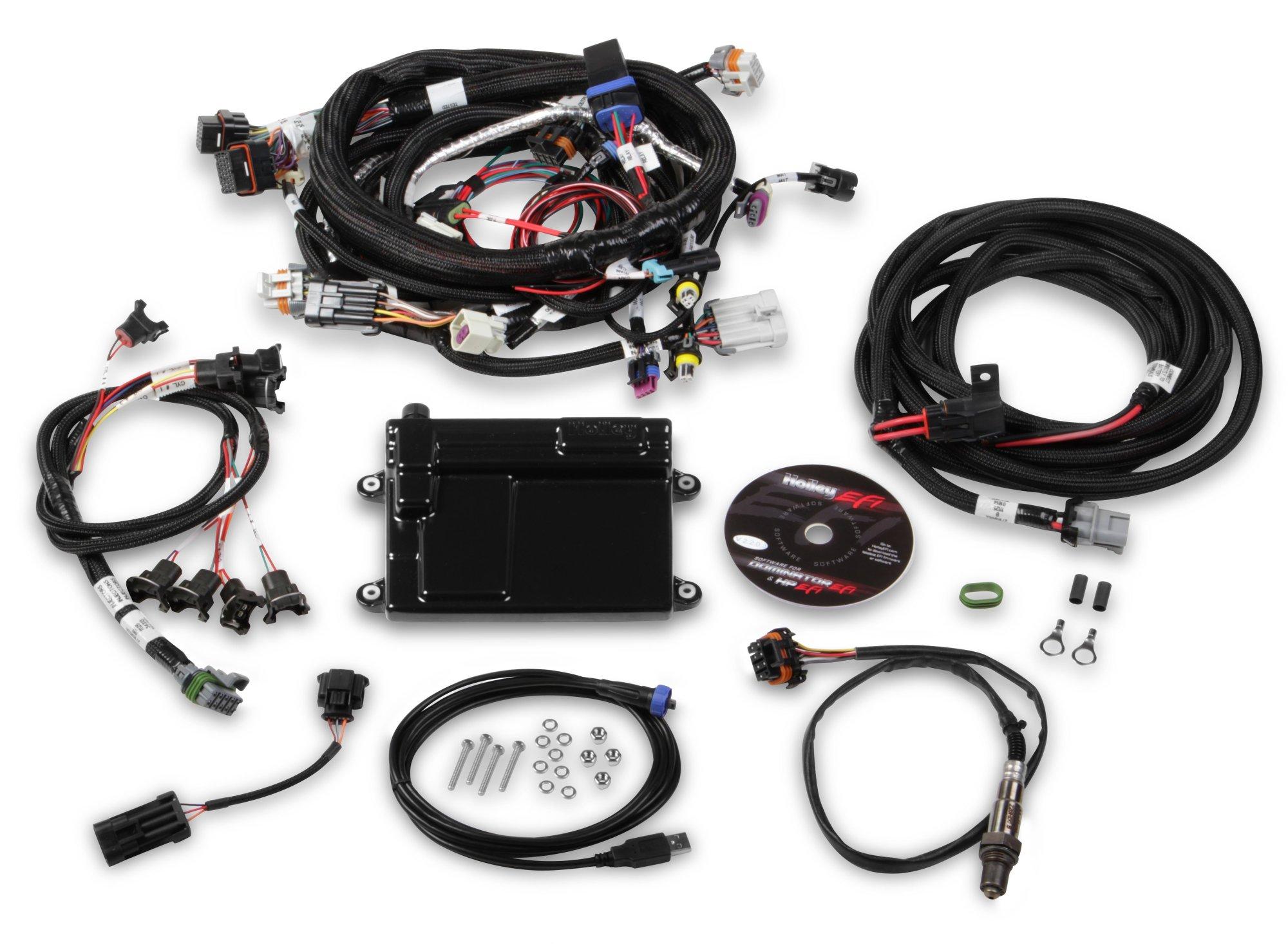 hight resolution of hp efi ecu harness kits