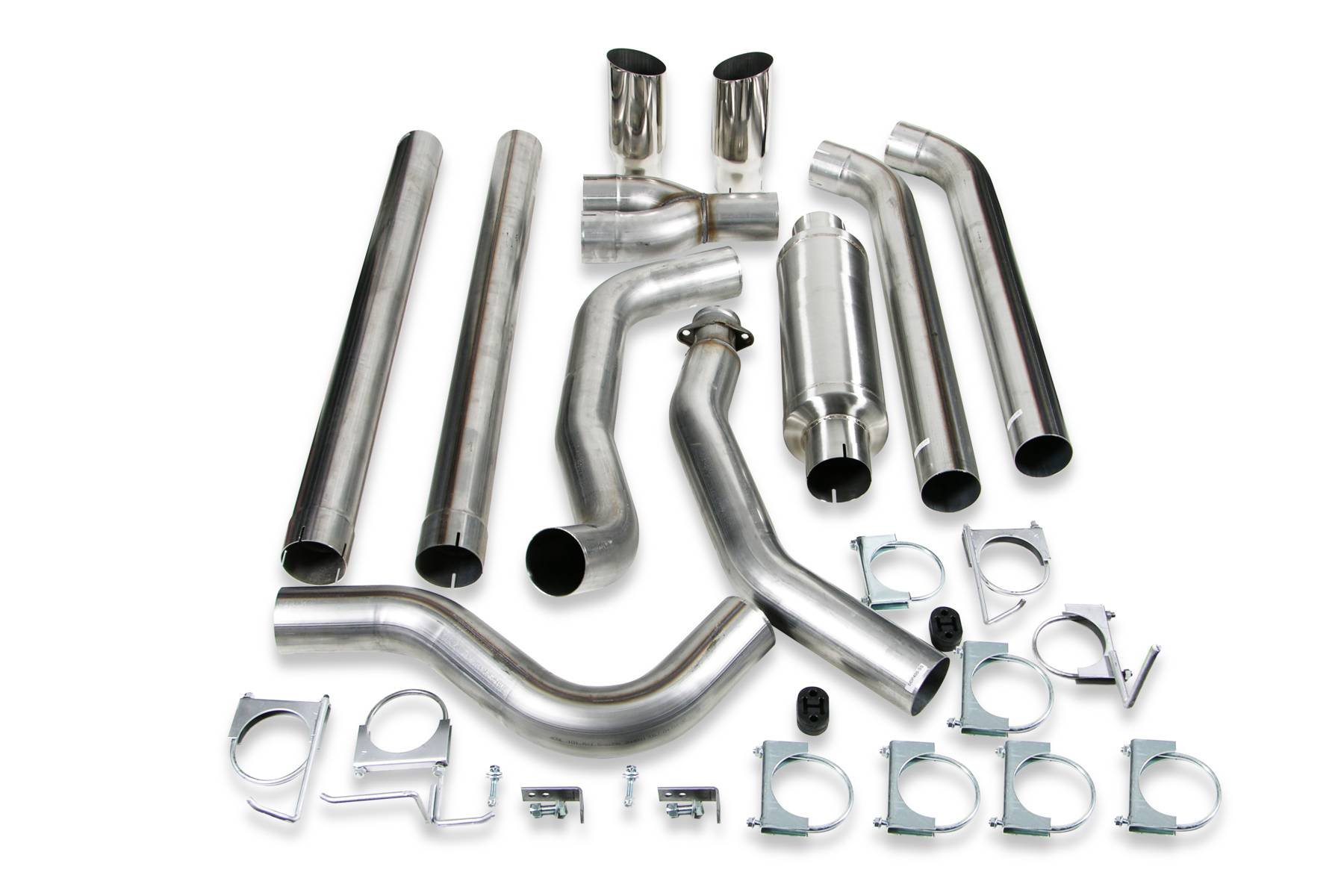 Turbo Back Exhaust System For Dodge 5 9l Cumminssel