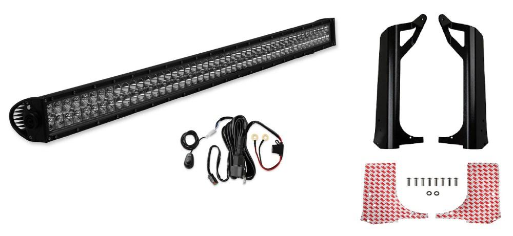 medium resolution of vk020002 bright earth led light bar kit jeep wrangler tj image