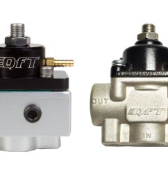 designed specifically for variable displacement belt driven fuel pumps qft s blue coded regulators utilize an idle bypass jet to provide 7 9 psi at wot  [ 2376 x 1584 Pixel ]