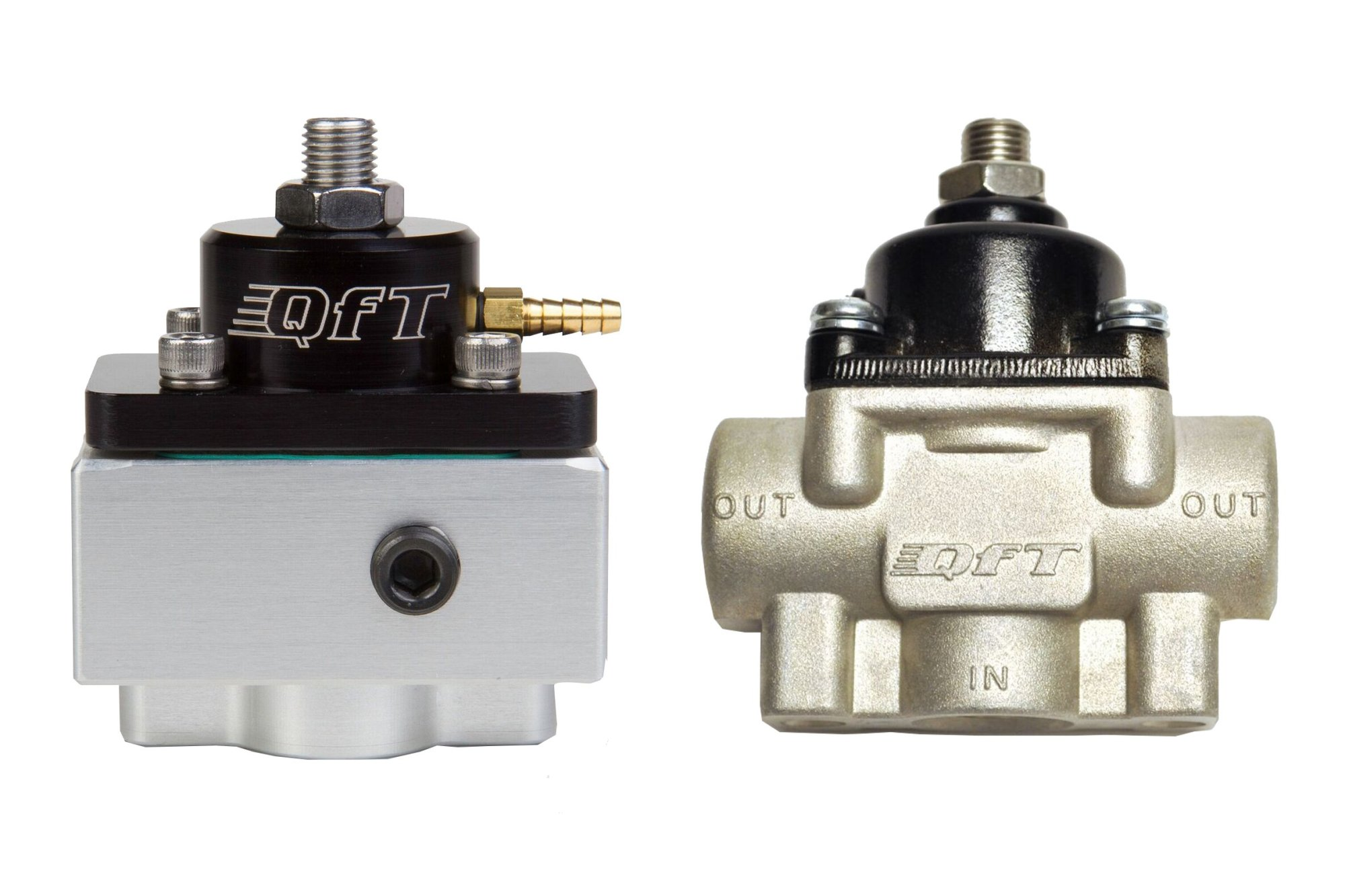 hight resolution of designed specifically for variable displacement belt driven fuel pumps qft s blue coded regulators utilize an idle bypass jet to provide 7 9 psi at wot