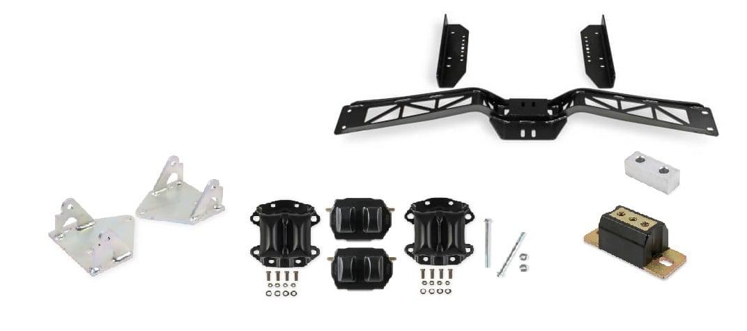 Holley Kits VK090175 Hooker BlackHeart LS Swap Kit