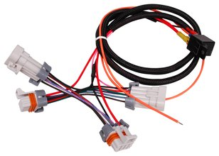 msd 6010 wiring harness nissan sentra 2001 audio diagram harnesses holley performance products ls coil power upgrade