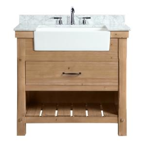 36 Inch Vanities Farmhouse Bathroom Vanities Bath The Home Depot