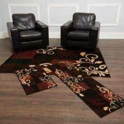 Living Room Rug Sets Modern Lights Rugs The Home Depot 3 Piece Set