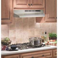 Hood Kitchen Stools Walmart Stainless Steel Range Hoods Appliances The Home Depot Ductless Under Cabinet With Light In