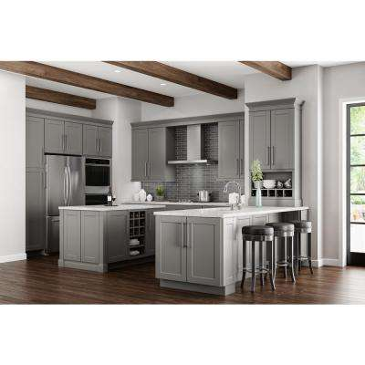 farmhouse kitchen cabinets rolling carts the home depot shaker assembled 24x30x12 in diagonal corner wall cabinet